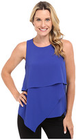 Vince Camuto Sleeveless Asymmetrical Layered Blouse