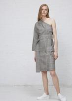 Hope grey check single dress