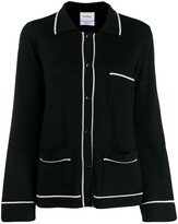 Barrie button-up cashmere cardigan