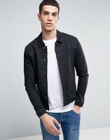 ONLY & SONS Denim Jacket In Washed Black