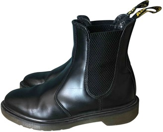 Dr. Martens Chelsea Black Leather Ankle boots