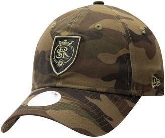 New Era Women's Camo Real Salt Lake Core Classic Tonal 9TWENTY Adjustable Hat