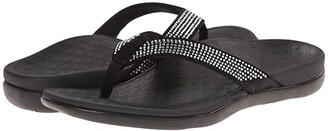 Vionic Tide Rhinestone (Pewter) Women's Sandals