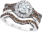 LeVian Le Vian® Bridal Diamond Bridal Set (1-5/8 ct. t.w.) in 14k White Gold