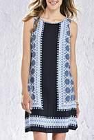 Charlie Paige Blue Boho Dress