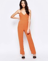 Glamorous Strappy Back Jumpsuit