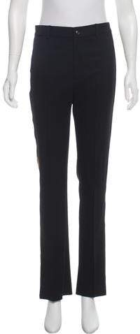 Ralph Lauren Black Label High-Rise Wool Pants