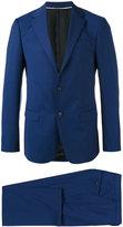 Z Zegna notched lapel two-piece suit - men - Cupro/Wool - 48