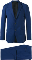 Z Zegna notched lapel two-piece suit - men - Cupro/Wool - 54
