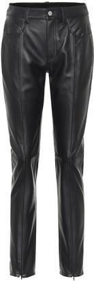 MM6 MAISON MARGIELA High-rise skinny leather pants