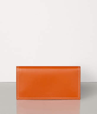Bottega Veneta LARGE WALLET IN FRENCH CALF