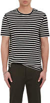 Vince Men's Striped Cotton Crewneck T-Shirt
