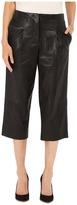Prabal Gurung Leather Capri Pants Women's Capri