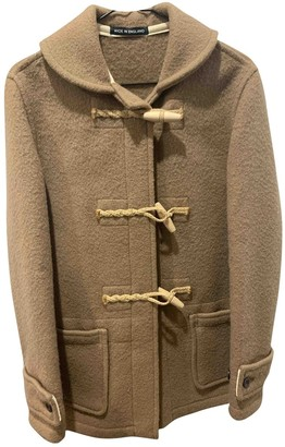 Gloverall Brown Wool Coat for Women