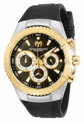 Technomarine Women's Sea Manta Stainless Steel Quartz Watch with Silicone Strap