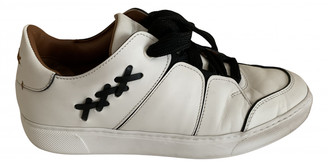 Ermenegildo Zegna White Leather Trainers