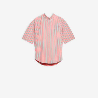 Balenciaga Short Sleeve Swing Shirt