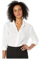 NYDJ Classic Lawn Shirt (Optic White) Women's Clothing