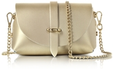 Le Parmentier Caviar Metallic Leather Mini Shoulder Bag