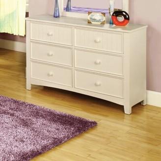 Hokku Designs Bedford 6 Drawer Double Dresser