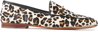 Sam Edelman Loraine Leopard-print Calf Hair Loafers