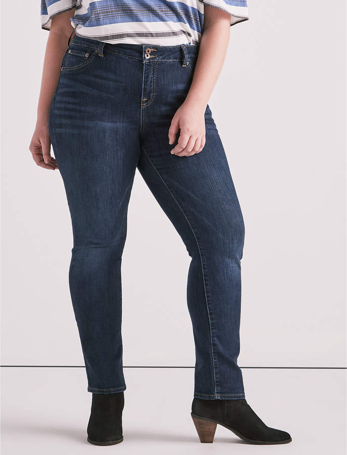 Lucky Brand PLUS SIZE EMMA STRAIGHT LEG JEAN IN GOLETA