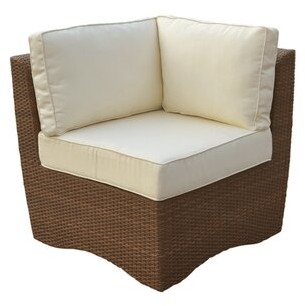 Panama Jack Key Biscayne Corner Chair Outdoor
