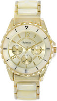 Style&Co. Style & Co Watch, Women's Gold-Tone Plastic Bracelet 48mm SY028GBN