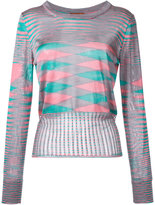 Missoni intarsia knit jumper - women - Viscose - 40
