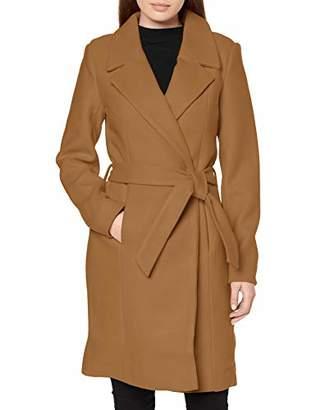 Only Women's Onlregina Wool Coat Cc OTW, Brown Camel, 14 (Size: Large)