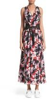 Marc Jacobs Women's Print Silk Midi Dress