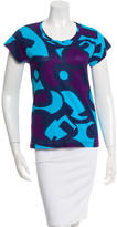 Piazza Sempione Printed Short Sleeve T-Shirt w/ Tags