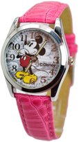 "Disney Unisex Watch Mickey Mouse Vintage"". Analog Large Display.Glowing Hands."""