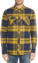 Nike Men's Sb Holgate Regular Fit Plaid Flannel Shirt
