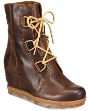 Sorel Women's Joan of Arctic Wedge Ii Waterproof Booties Women's Shoes
