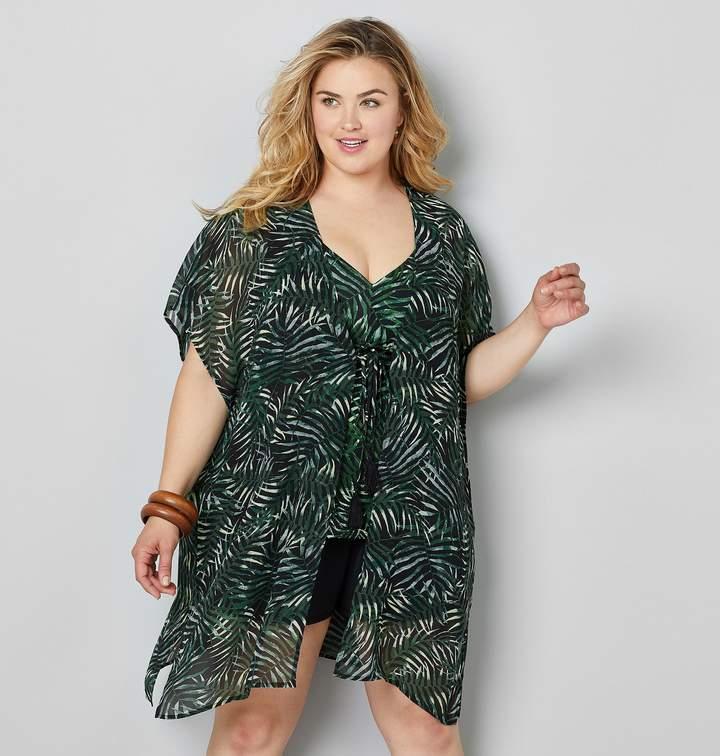 5c22e2bebd1 Plus Size Swim Cover Up - ShopStyle
