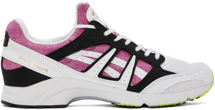 Thumbnail for your product : Comme des Garçons Shirt White & Pink Asics Edition Tarther SD Sneakers