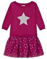 Hatley Pink Glitter Flower Party Dress