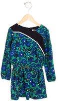 Kenzo Girls' Long Sleeve Floral Print Dress