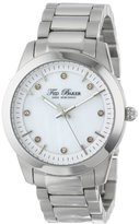 Ted Baker Women's TE4086 Dress Sport Triple Silver-Tone Stainless Steel Bracelet Watch