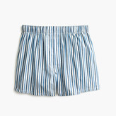 J.Crew Blue-striped boxers