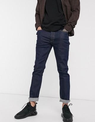 Topman slim jeans in raw blue