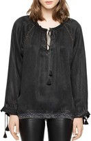 Zadig & Voltaire Theresa Tasseled Tunic