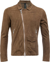 Giorgio Brato slim-fit biker jacket - men - Leather - 48