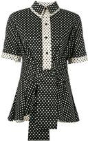 Henrik Vibskov Lenka blouse - women - Cotton/Polyamide/Spandex/Elastane - S