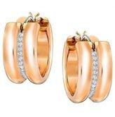 Swarovski Women's Stud Earrings Stainless Steel with White 1.5 cm – 5224976