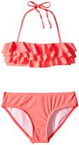 Seafolly Summer Daze Mini Tube Bikini (Little Kids/Big Kids)