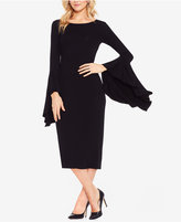 Vince Camuto Bell-Sleeve Midi Dress