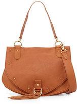 See by Chloe Leather Tassel-Flap Crossbody Bag, Hazel
