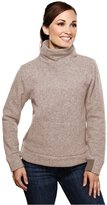 Tri-Mountain Women's Stylish Turtleneck Fleece Sweatshirt